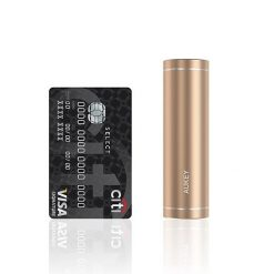 Mobbi Plus Aukey Power Bank Cilindrico 5000mAh PB-N54 Dourado
